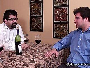 Footjob - Wife closes under table business deal   fetish foot foot fetish footjob