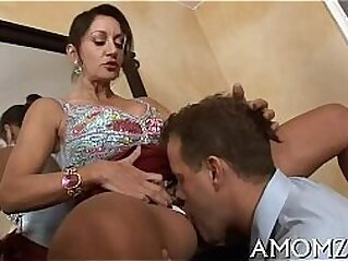 Hot mamma is fingered and screwed   balls cougar fingering hardcore