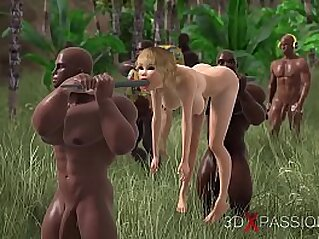 TRIBE, BIG DICK. 3dxpassion.com   3d anal animation ass