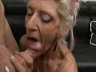 French GILF gets anal   anal facials french fuck